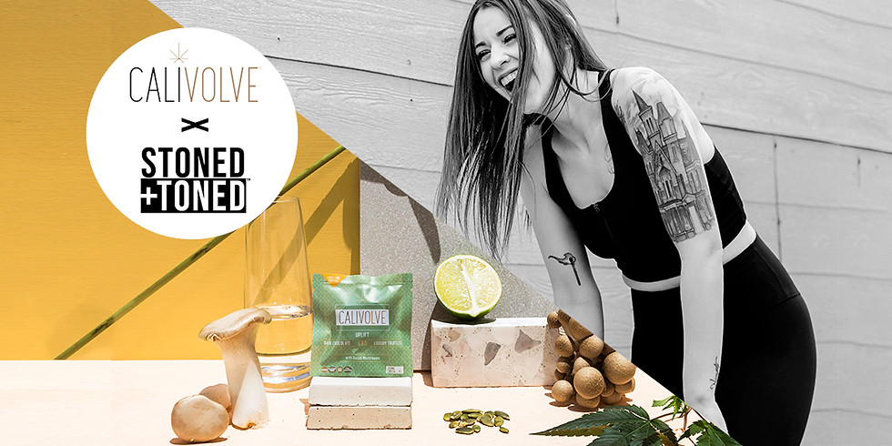 CBD Day Workout with Morgan - Calivolve x Stoned+Toned