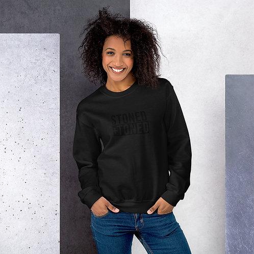 Unisex Black Logo Sweatshirt