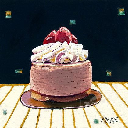Strawberry Tart - Print
