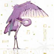 Purple Preening