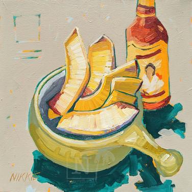 Breadfruit and Hot Sauce