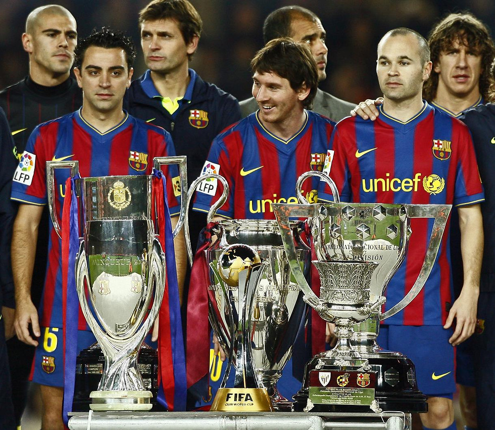 treble barca bayern celtic manu inter