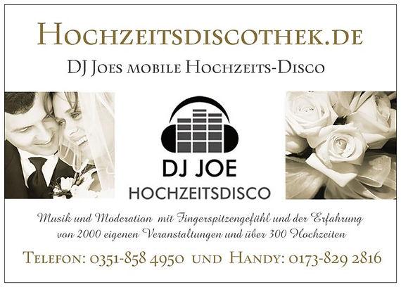 DJ gesucht Dresden Silberhochzeit Hochzeitsfeier Geburtstagsfeier