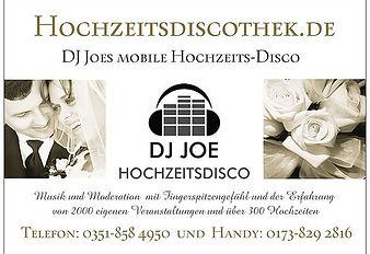 Empfehlung Hochzeits DJ Dresden
