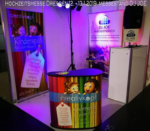 Hochzeitsmesse 2019 in Dresden DJ