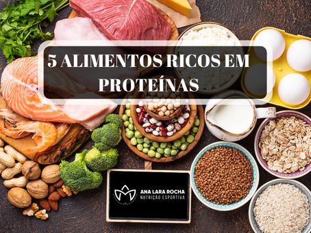 5 ALIMENTOS RICOS EM PROTEÍNAS QUE VOCÊ NÃO CONHECIA