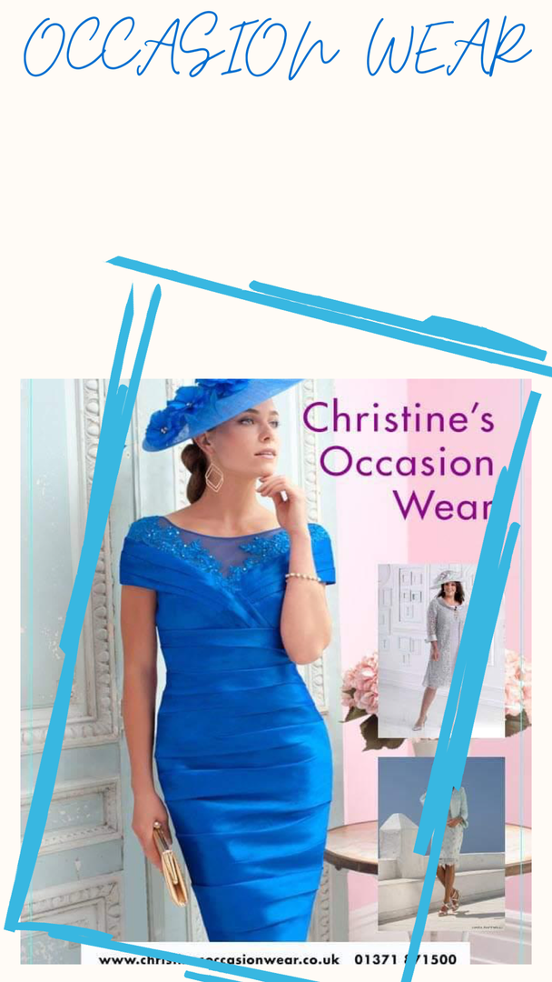 CHRISTINE'S OCCASION WEAR