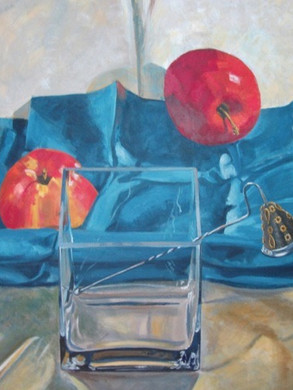 Apples and Candle Snuffer