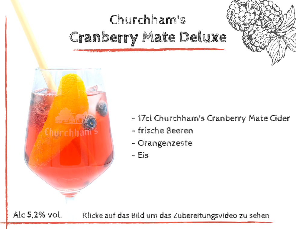 Cranberry Mate Deluxe