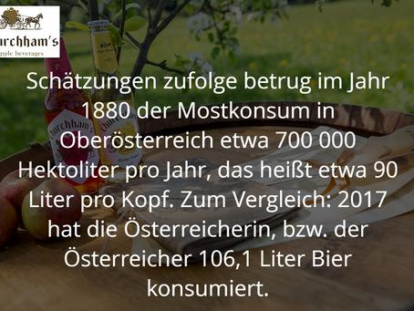 Geschichte der Obstweinerzeugung und aktuelle Situation in Oberösterreich