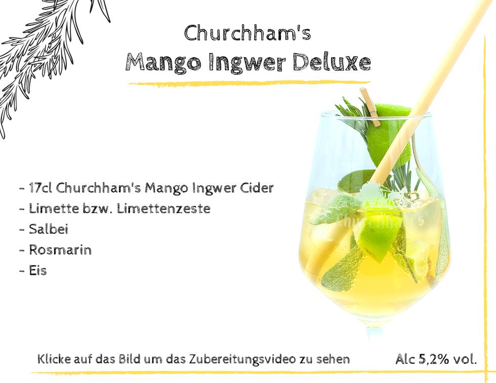 Mango Ingwer Deluxe