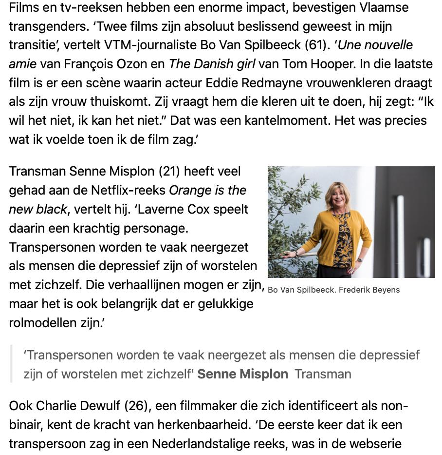 Interview - De Standaard d3
