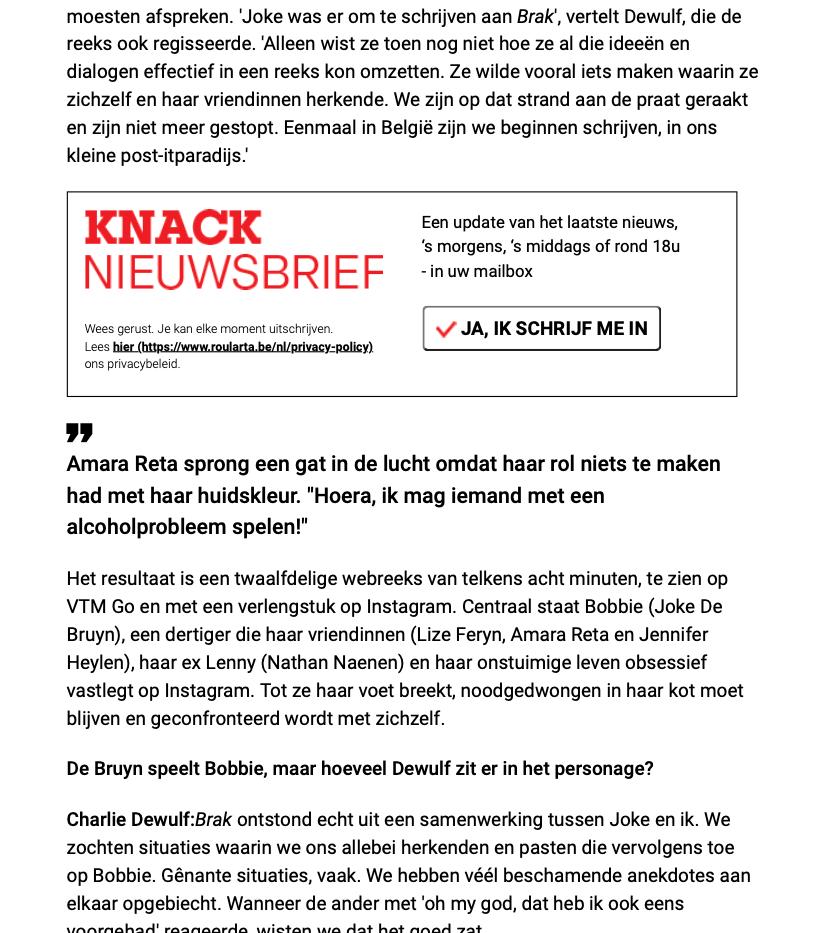 Brak - Knack magazine d2
