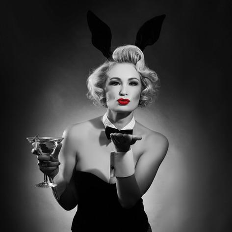 Vintage playboy martini
