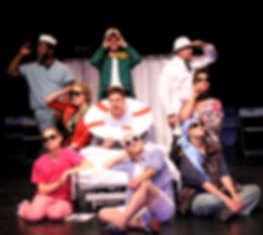Plain Jane Theatres A New Brain cast pho