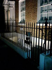 Metal Security Railings East London
