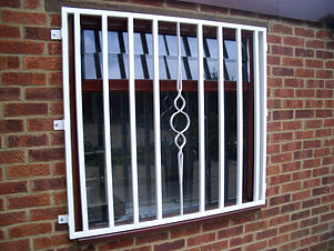 Metal Security Window Grilles and Bars East London
