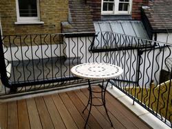 Security Metal Balcony East London