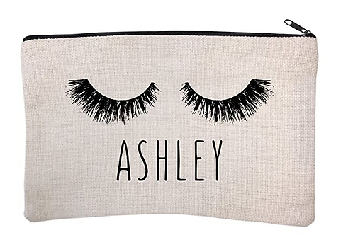 Personalized Eyelash Makeup Bag - Limited Edition!