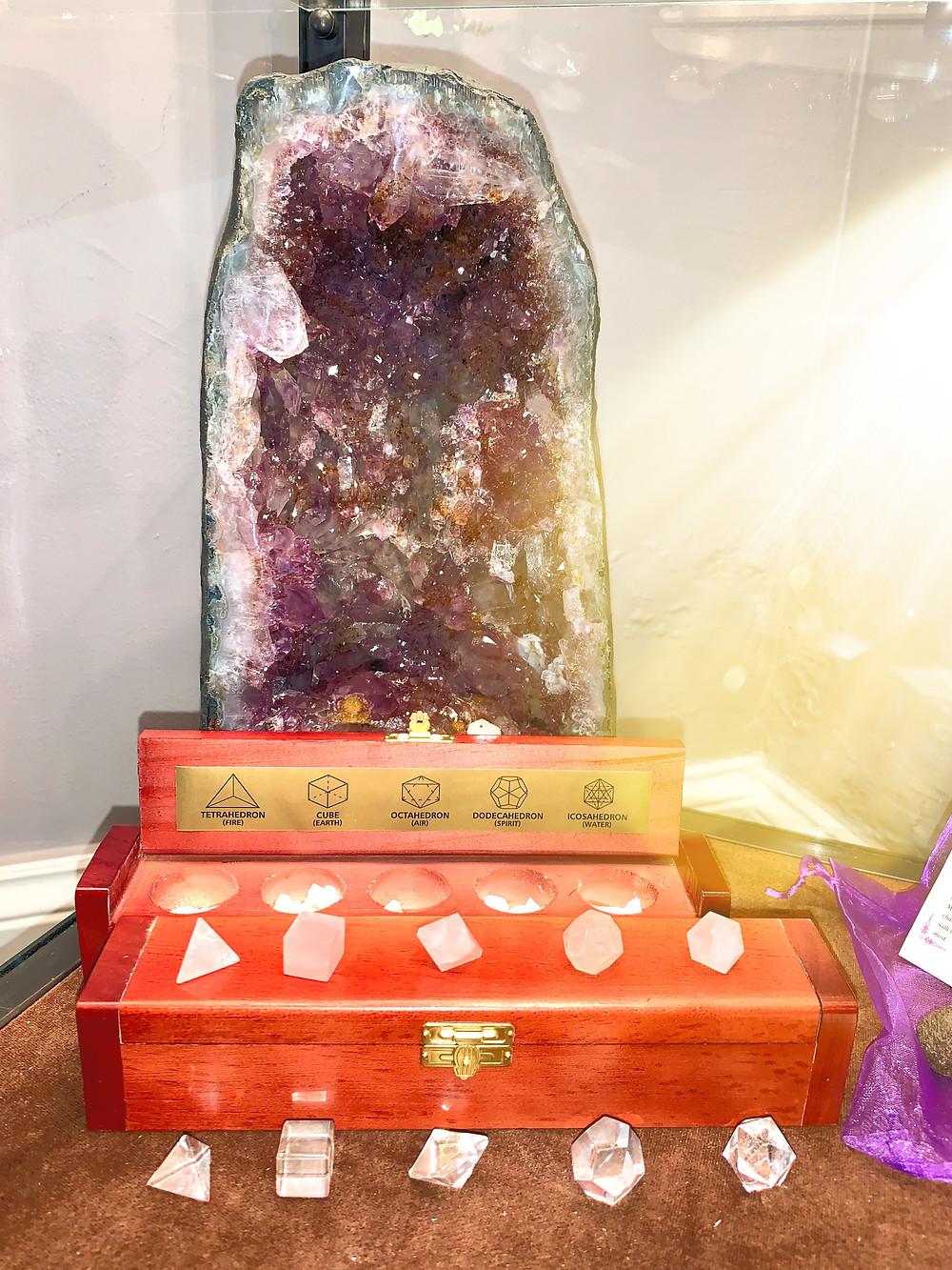 Platonic solid energy healing