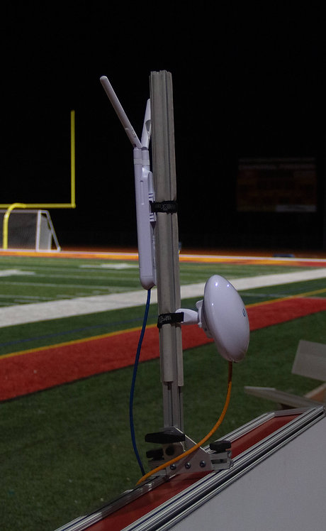 Sideline Wifi Mount Close Up