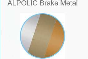 ALPOLIC Brake Metal