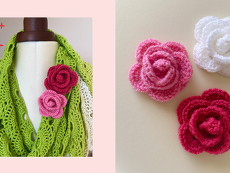 How to Make a Crochet Rose
