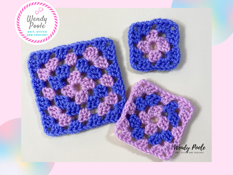 Learn to Crochet Your First Granny Square