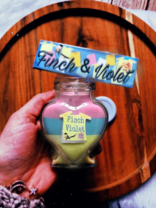 Finch & violet edition coeur