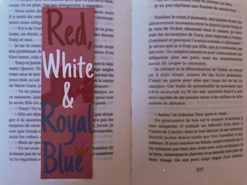 Red white & Royal blue