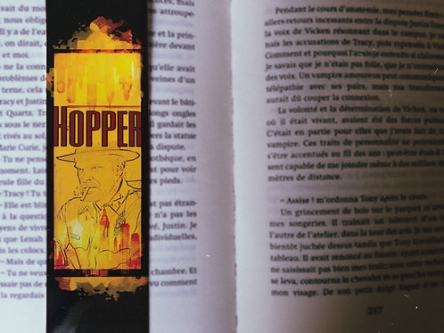 Hopper  stranger things