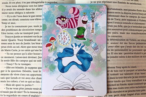 Carte Alice aux pays des merveilles