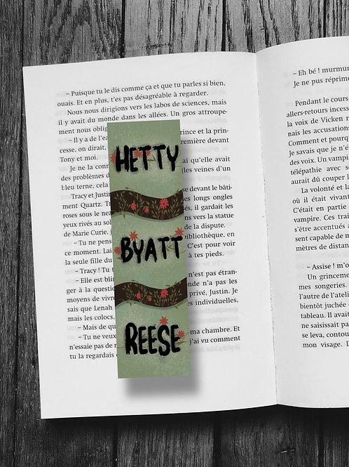 Hetty Byatt Reese
