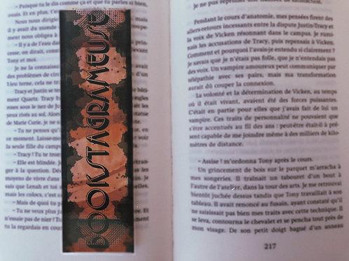 Bookstagrameuse (orange/marron)