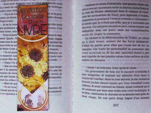 Des vacances du soleil et mon livre
