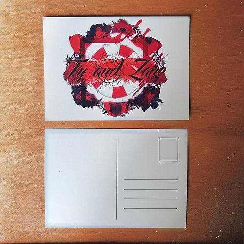 Carte postale Ty & Zane