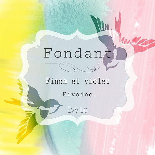 Fondant Finch & Violet