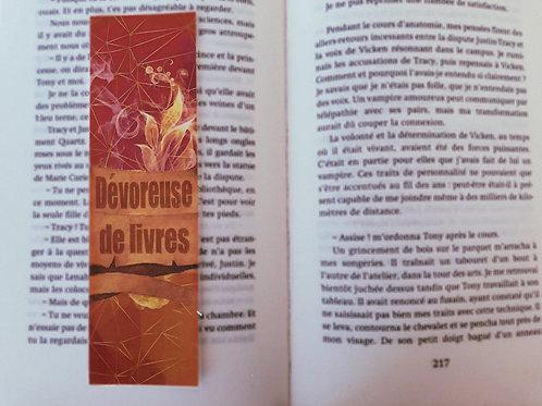Dévoreuse de livres (Orange)