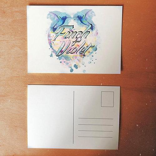 Carte postale Finch & Violet