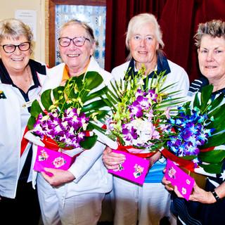 16 Ladies' Spring Carnival 2020 Winners.