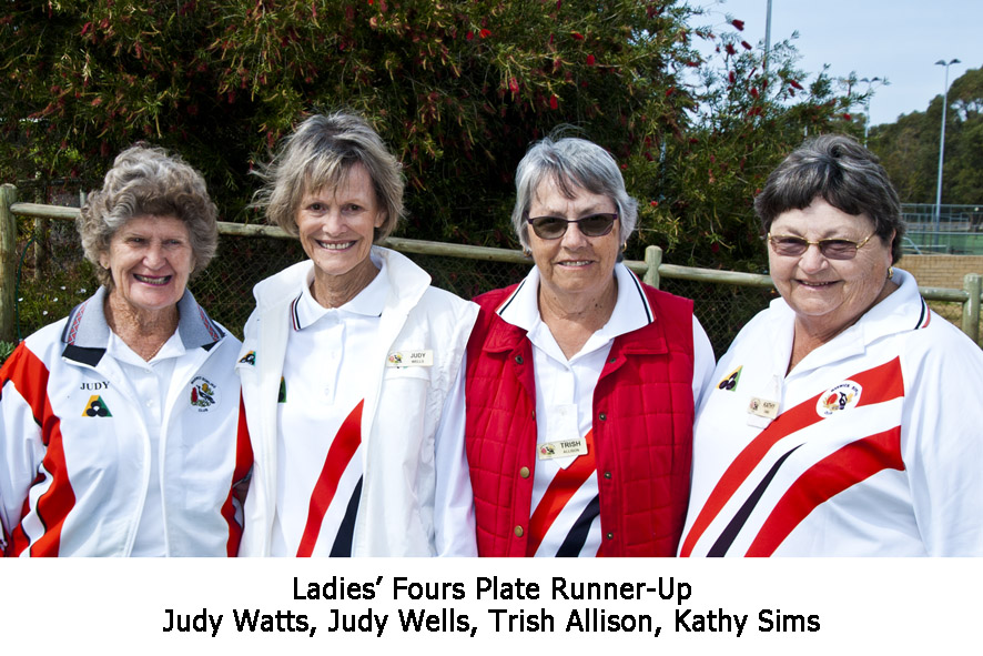 25 Ladies' Fours 2018_2019 Plate Runner-