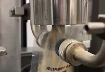 Pouching of spice blend on Horizontal Unit: Slo-Mo