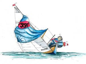 Sailing Watercolour Portraits