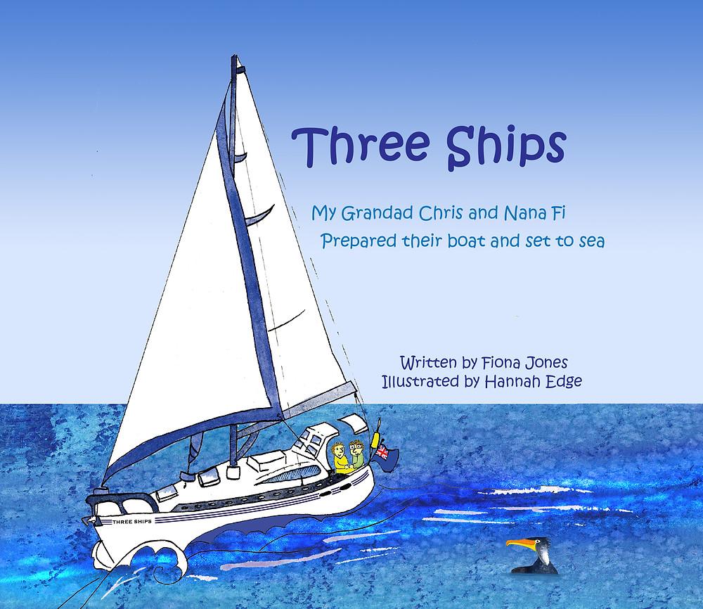 Three Ships, my grandad Chris and Nana Fi prepared their boat and set to sea