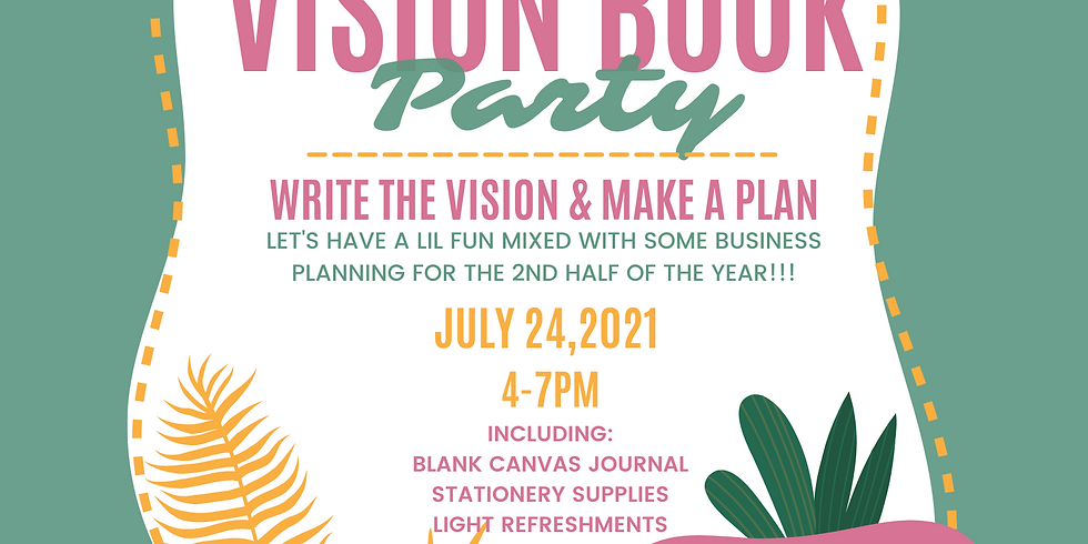 Vision Book Party