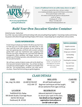 Build Your Own Succulent Garden Container