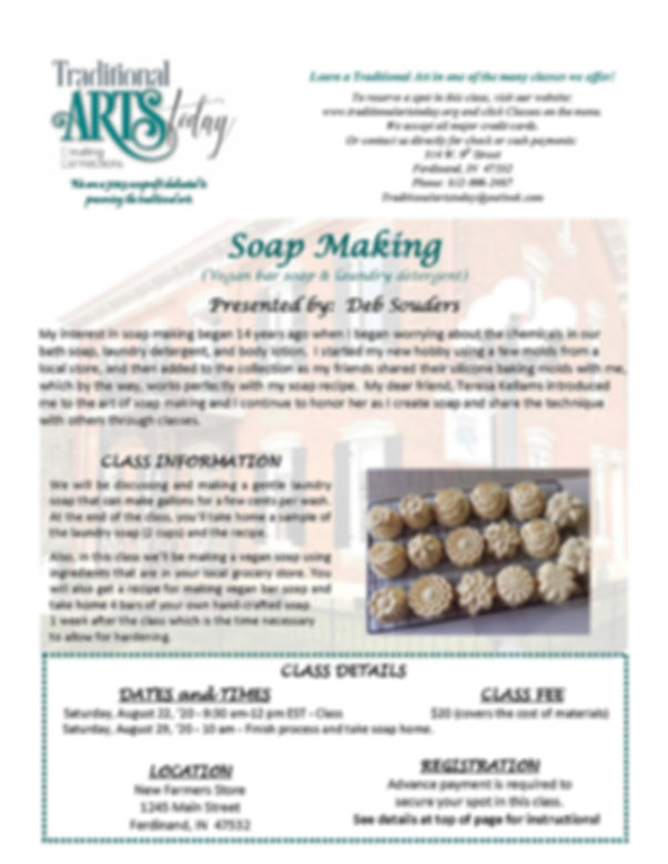 Soap Making with Deb Souders