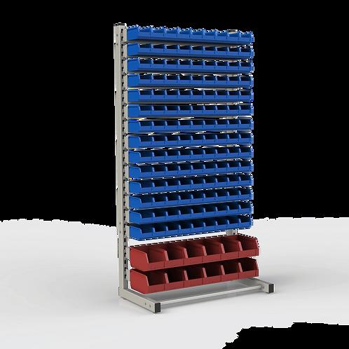 Стеллаж односторонний Комплектация №3 (1835 х 950 х 510) мм