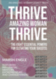 THRIVE AMAZING WOMAN Book Cover Mock-up
