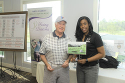 Swing Into Their Dreams Winner, Closest to the Pin, Jim Bohannon